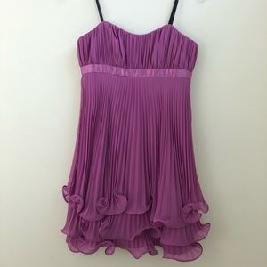 🎀Pleated Ruffle Strapless Cocktail Dress🎀
